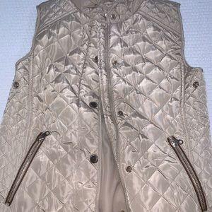 Zara Girls Vest Beige
